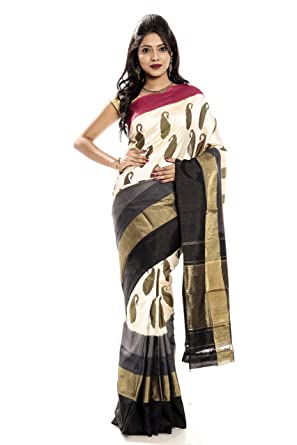 2d7e97741cca2f Mandakini — Indian Women's Pochampally - Handloom - Ikat (Ikkat) Pure Silk  Saree (