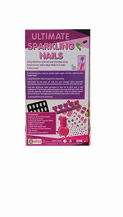 Buy Debina Store Nail Art - Ultimate sparkling nails- Make your lil ...