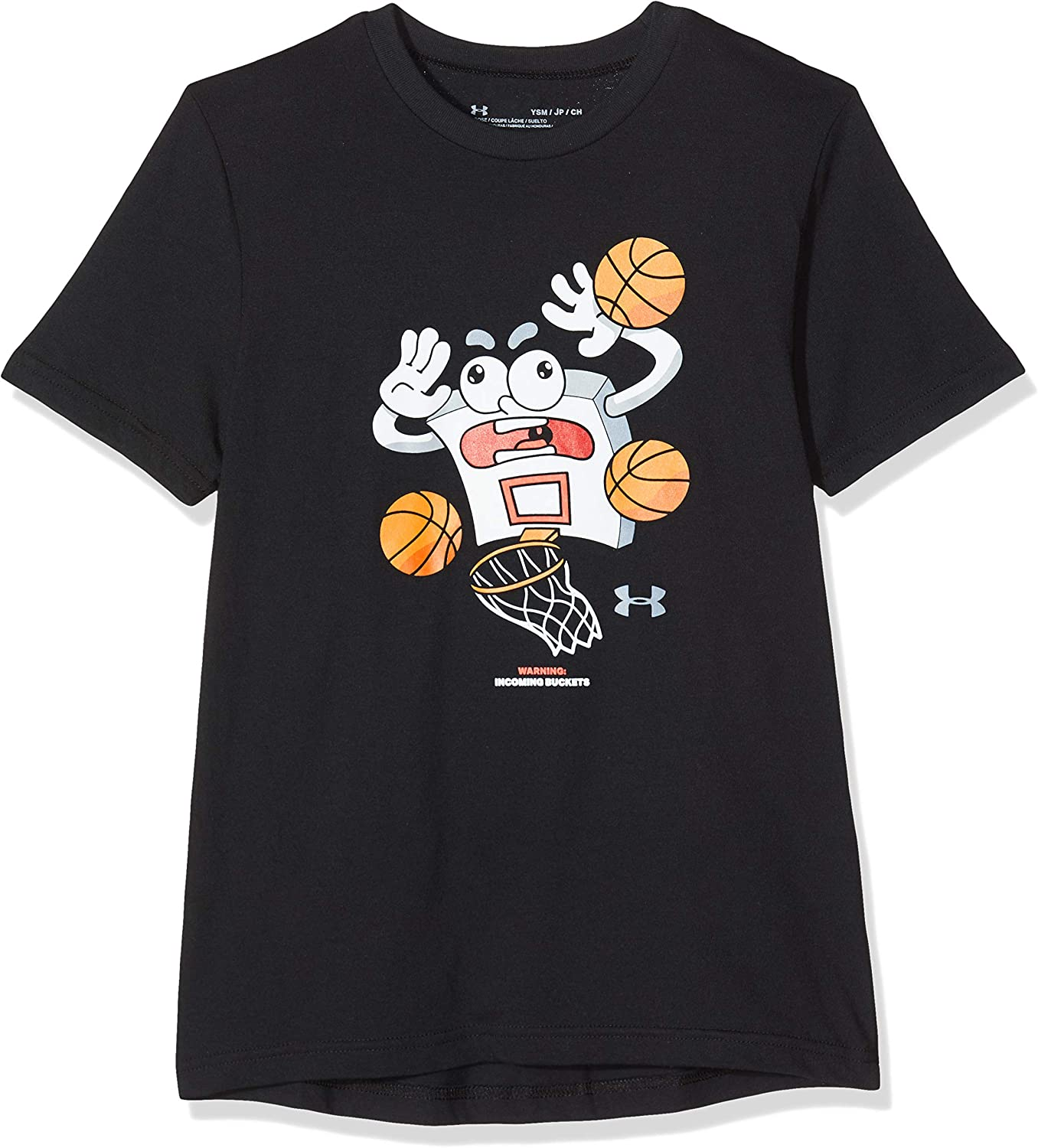 Incoming Buckets Tanque Under Armour Warning Ni/ños