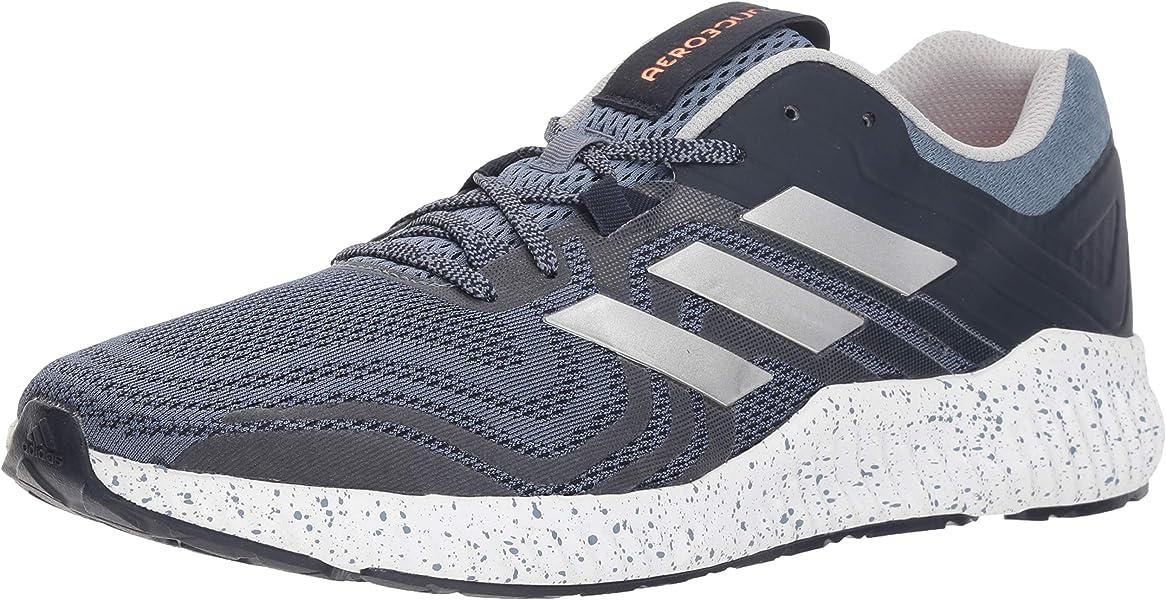 half off e4066 1a8c4 adidas Mens Aerobounce St 2 Running Shoe, raw SteelSilver MetallicHi-