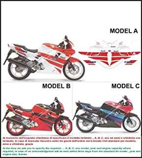 GRAPICHSMOTO Kit adesivi Decal stikers Honda CBR 600 F 1992