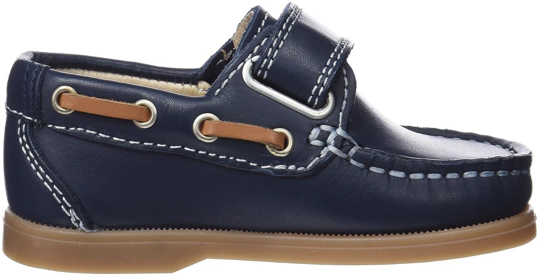 Pablosky 123929, Chaussures Bateau Garçon, Bleu (Azul 123929), 24 EU