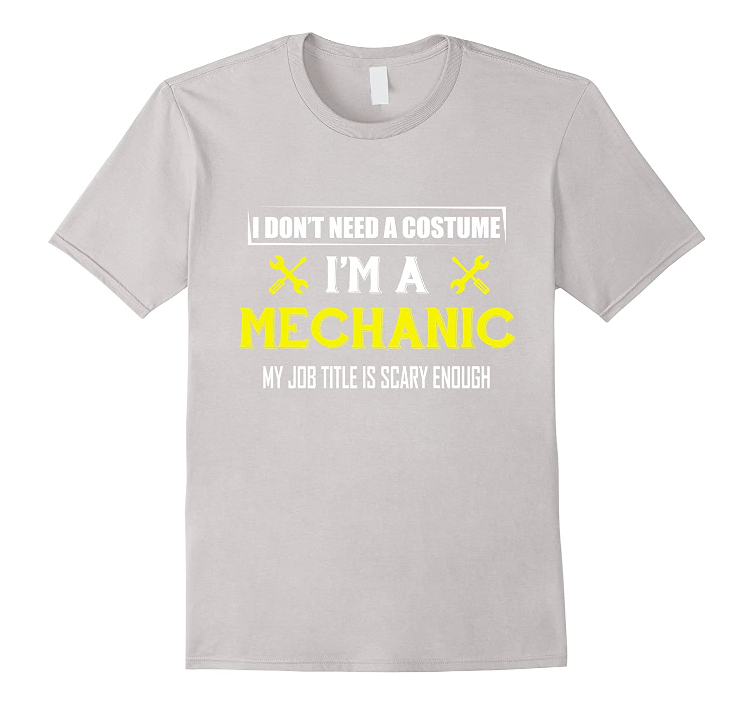Mechanic Tshirts For Men. Cool Halloween Costume For Husband-FL