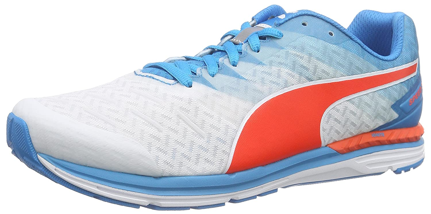 d7de3b2463ffc5 Puma Unisex Adults  Speed 300 Ignite Running Shoes Blue