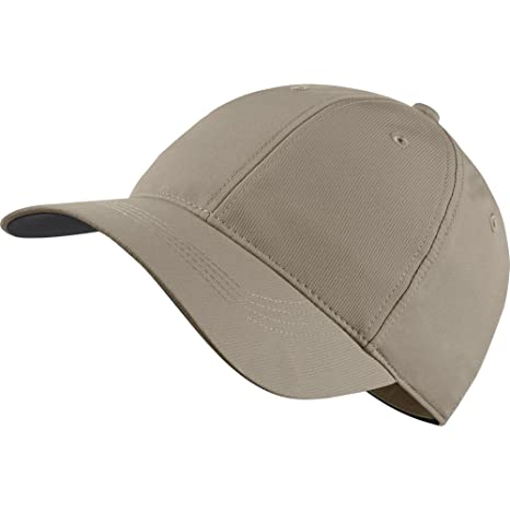 ea1679125dc23 Amazon.com  Nike Golf Legacy 91 Custom Tech Adjustable Hat (Khaki Black)   Sports   Outdoors