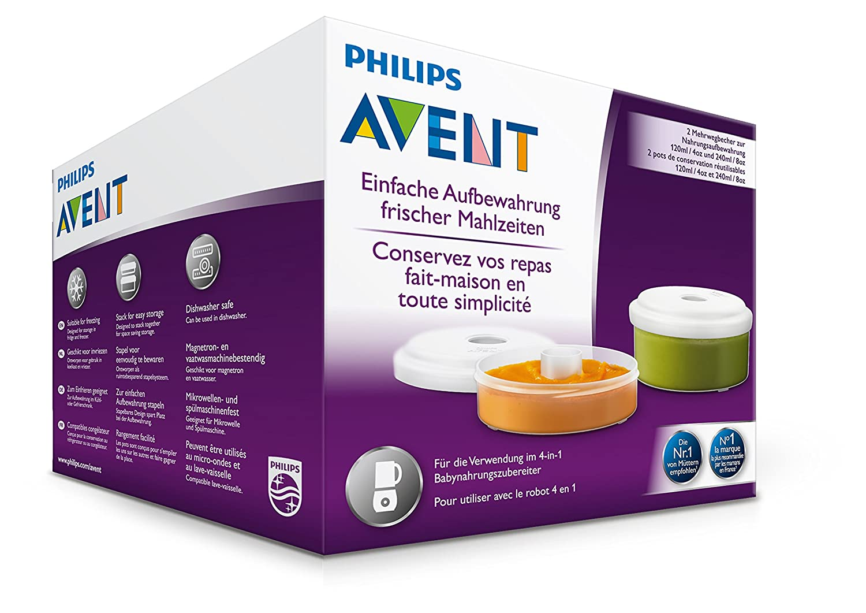 Philips Avent SCF876//02 Babynahrung Aufbewahrungsbeh/älter wei/ß