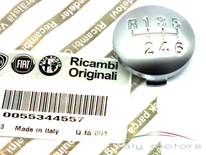 Ortiginal Alfa Romeo 159 Schaltknauf Kappe Abdeckung 6 Gang 55344557