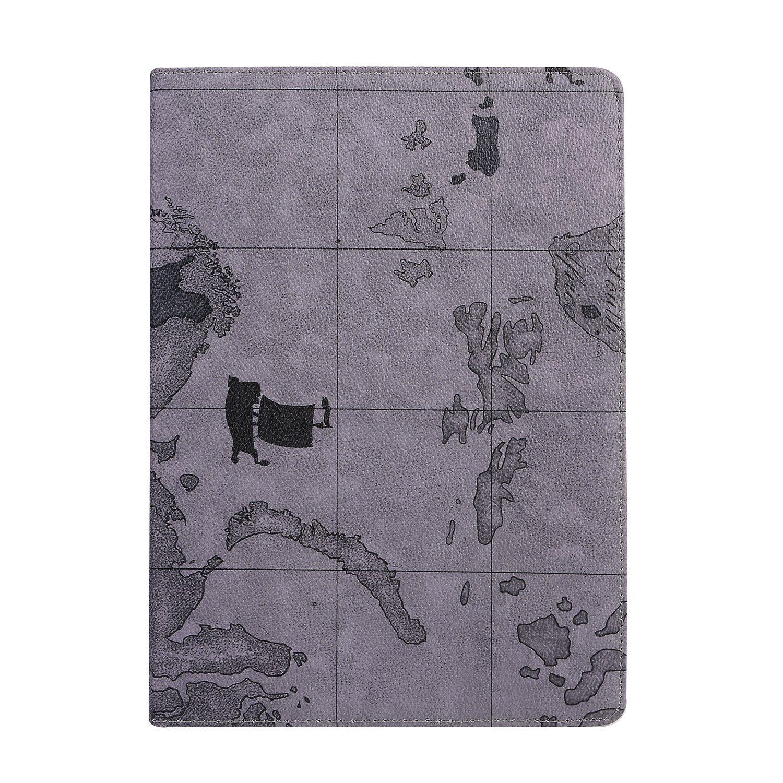 iPad air 2,Camouflage-A1 Flip Stand,360 Degrees Rotating Case,Premium PU Leather MeiLiio New iPad Air 2 Folio Case Slim Protective Hard High Impact Bumper Cover Case