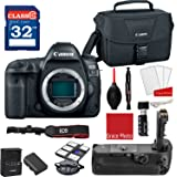 Canon EOS 5D Mark IV DSLR Camera (Body Only) + Professional Accessory Bundle