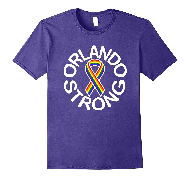Orlando Strong Gay Pride Ribbon T-Shirt