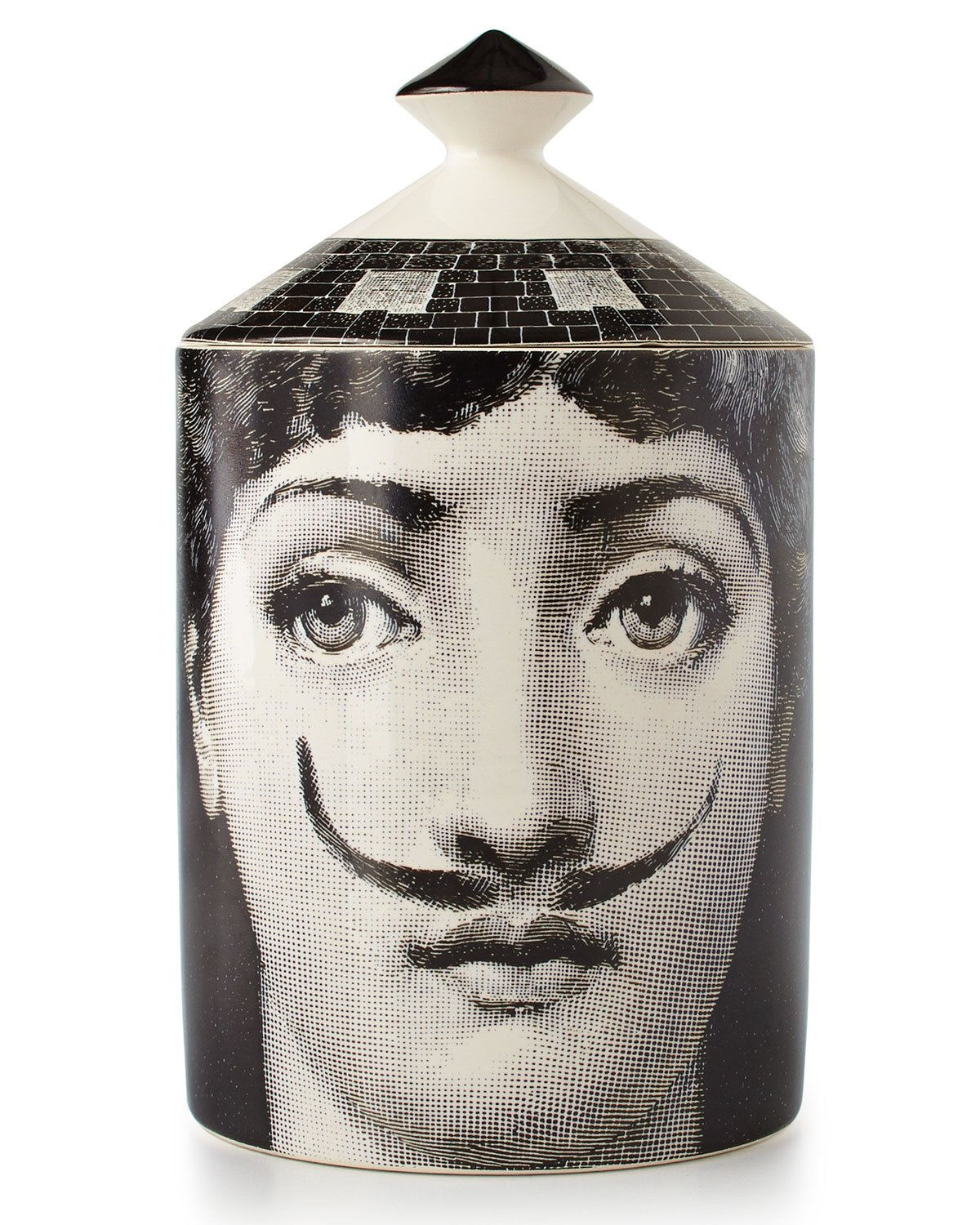 Fornasetti Moustache Single-Wick Scented Candle, MOUSTACHE