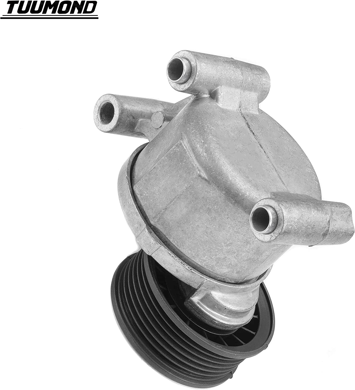 TUUMOND 38357 Automatic Belt Tensioner Fit for 2004-2011 Mazda 3 2006-2012 Mazda 5 KR-90062 L37215980 38357