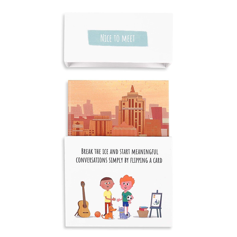 Amazon.com: Feeloty – Juego de cartas de preguntas para ...