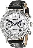 Ingersoll - IN1828WH - Montre Homme - Automatique - Chronographe - Bracelet cuir noir