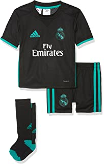 adidas Real Madrid 2017/18 Away Kit Children
