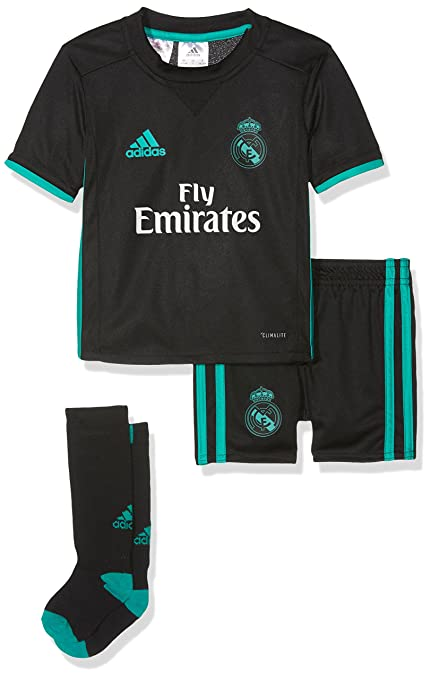 Amazon.com   adidas Real Madrid Kids Away Kit 2017 18-18-24 Months ... 4626c1612