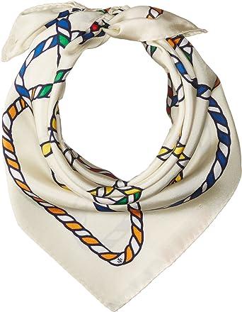 e36e9ef24 Tory Burch Women s Rope Neckerchief New Ivory Scarf at Amazon Women s  Clothing store