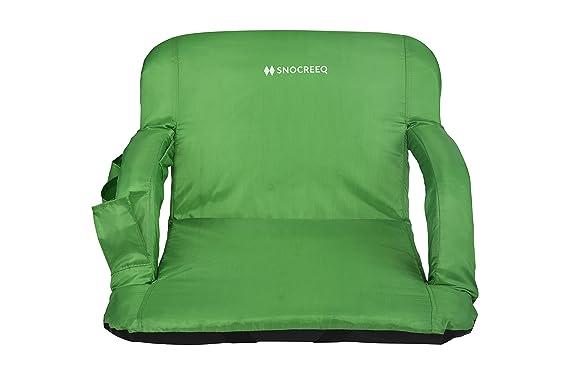 Amazon.com: snocreeq portátil extra de ancho estadio asiento ...
