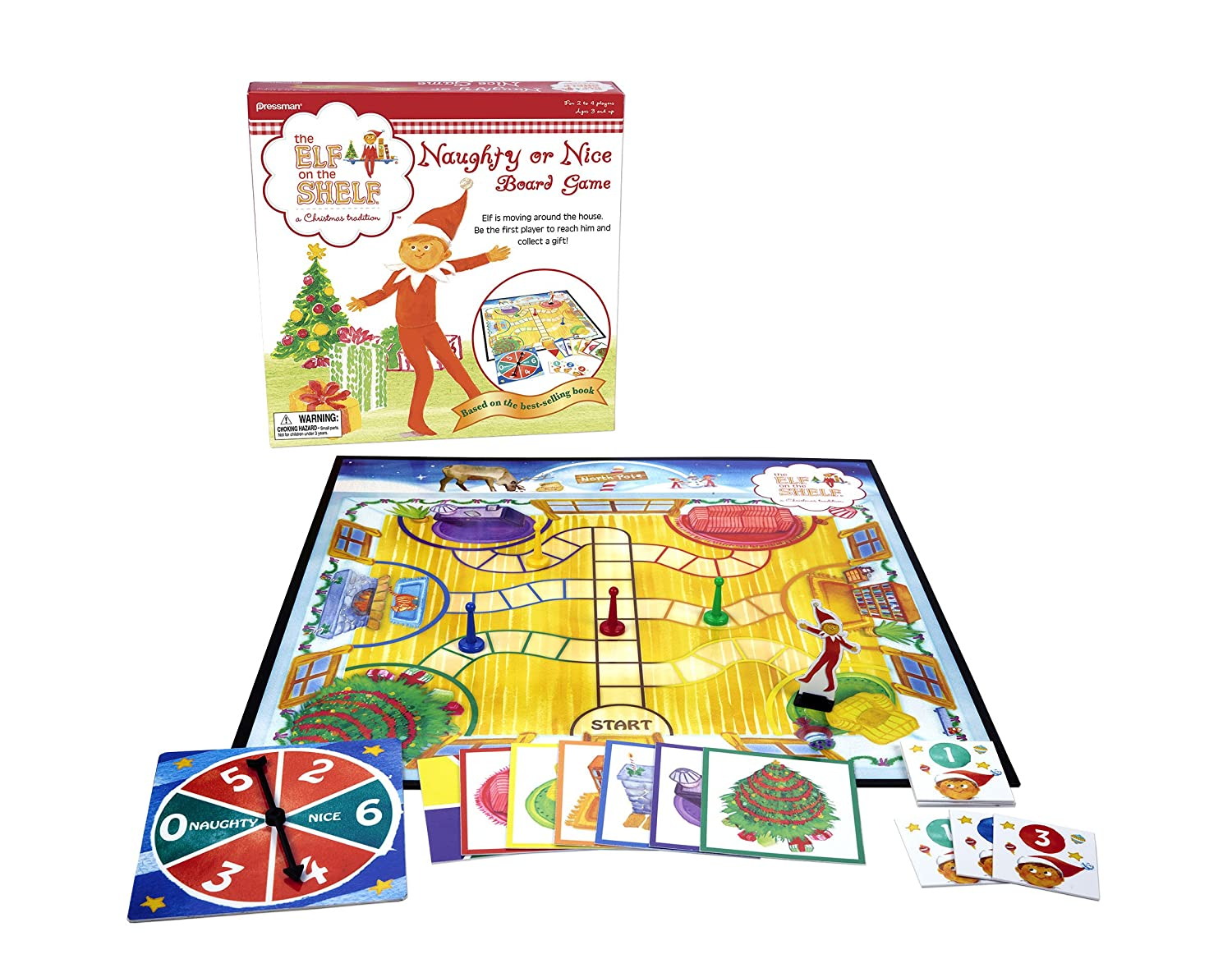 elf on the shelf board game for classroom kids