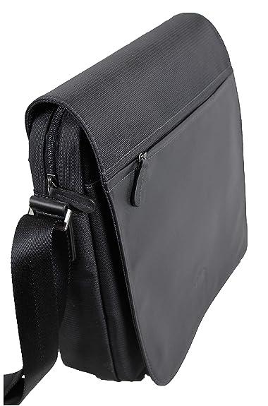 d9795e22ba Francinel Très grand sac besace nylon garni cuir réf 653111 + CADEAU  SURPRISE