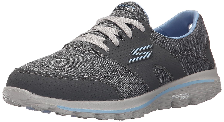 Skechers Performance Women's Go Walk 2 - Backswing Walking Shoe B013KOO6Q6 7 B(M) US|Grey/Blue