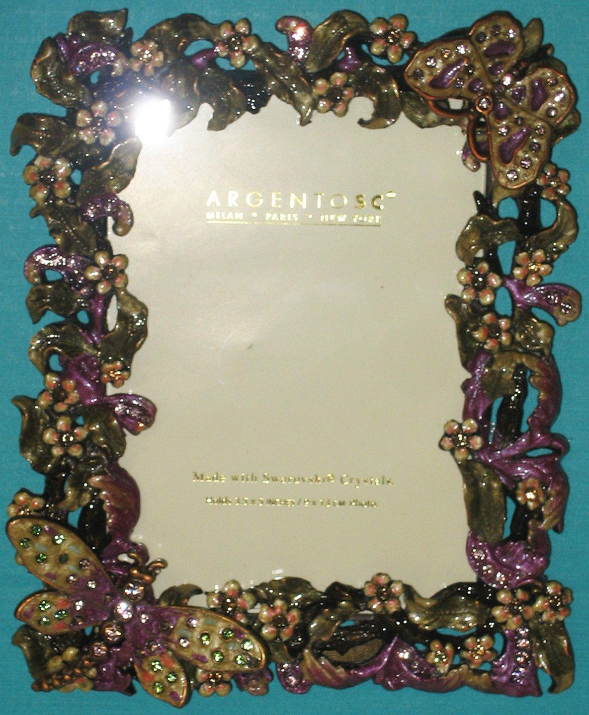 Amazon argento sc swarovski crystal picture frame 3x5 dz amazon argento sc swarovski crystal picture frame 3x5 dz luxury frames jeuxipadfo Images