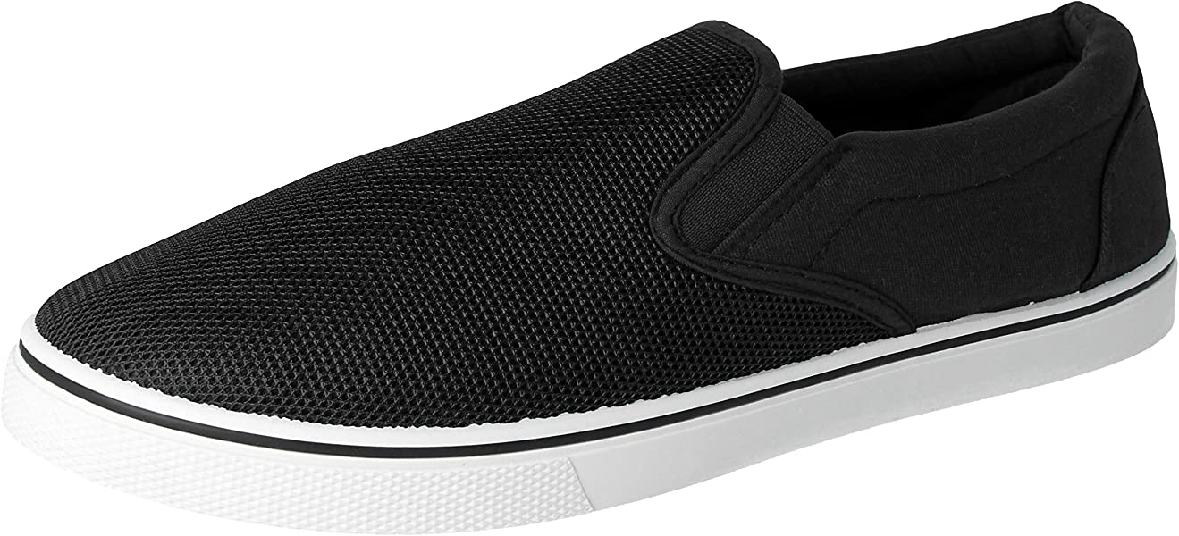 Black plimsolls trainers casual pumps from Urban Jacks size 7 uk toddler Size