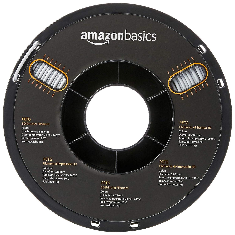 Amazon.com: AmazonBasics PETG Filamento para impresora 3D ...