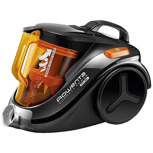 Rowenta Compact Power Cyclonic RO3753 - Aspirador, color negro