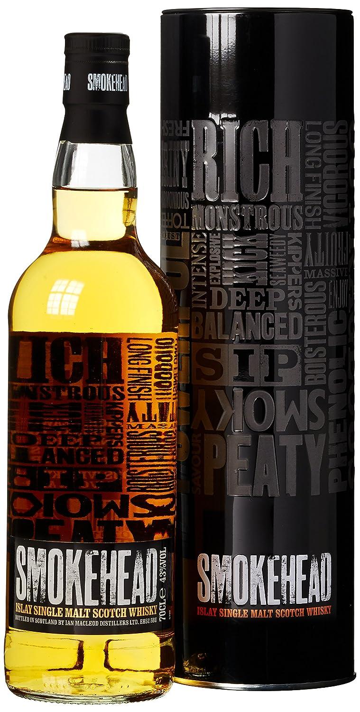 Smokehead Islay Single Malt Whisky (1 x 0.7 l): Amazon.de: Bier ...