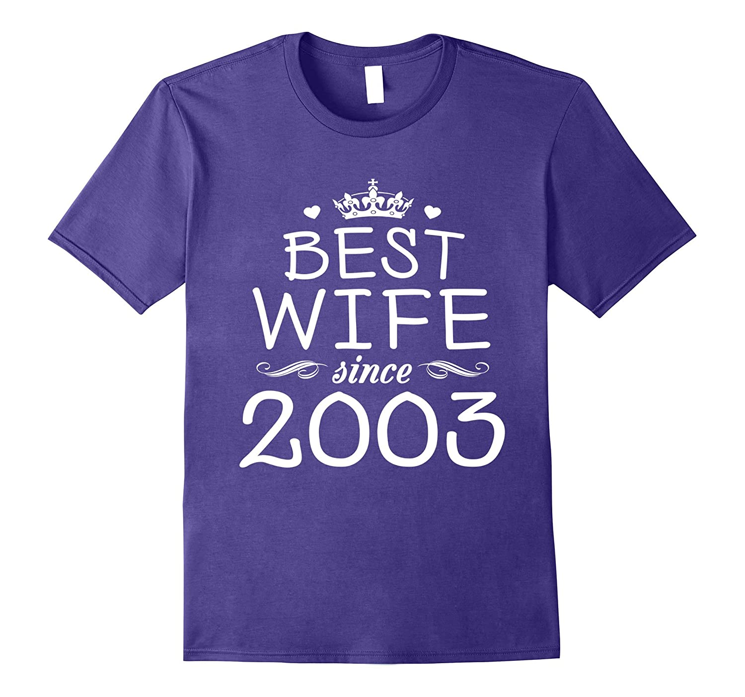 14th Wedding Anniversary Gift Ideas For Her-Wife Since 2003-PL