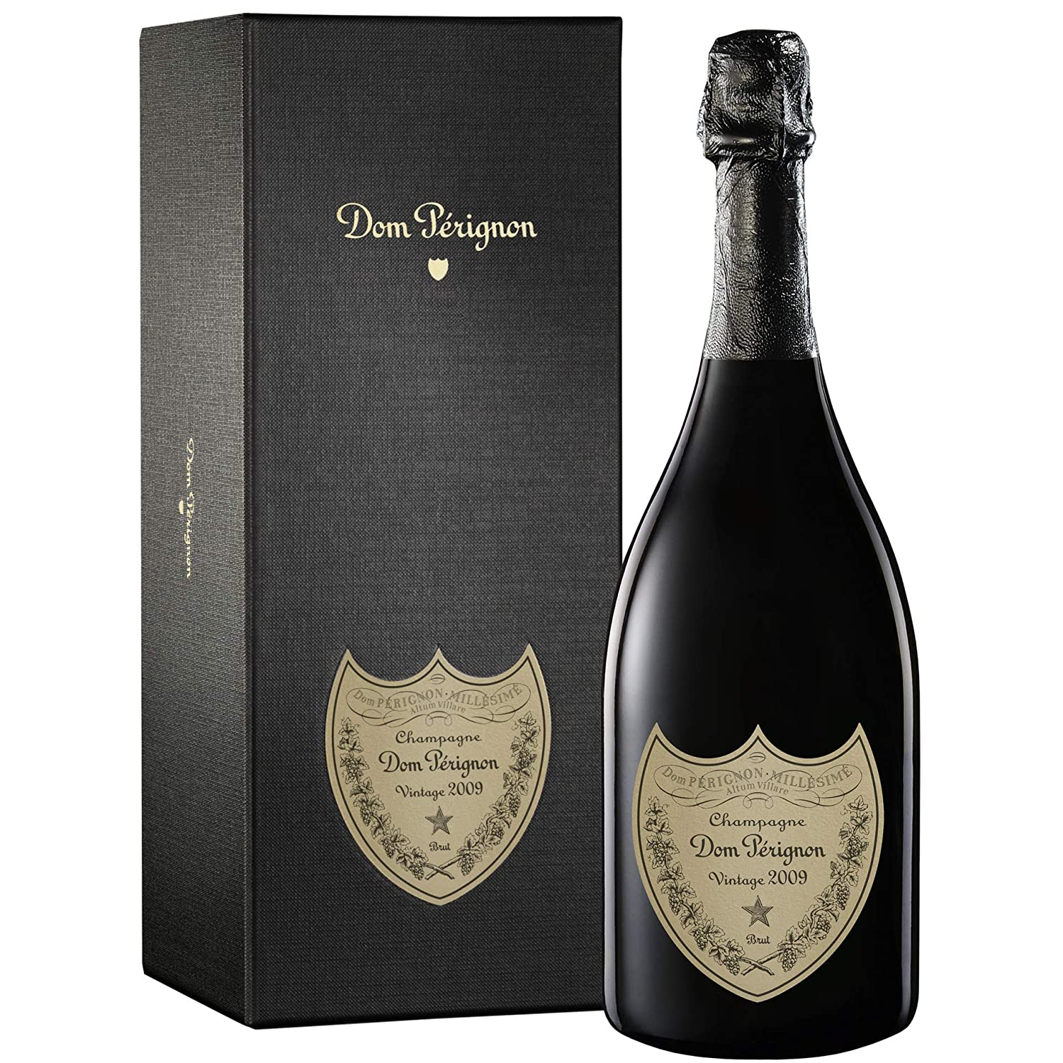 Dom Perignon 2009 Vintage Champagne Gift Box 75 Cl Amazon Co Uk