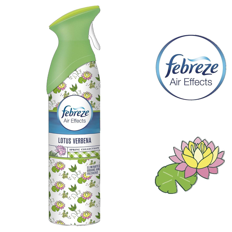 Febreze Air Effects Freshener Spray Lotus Verbena 300 Ml Amazon