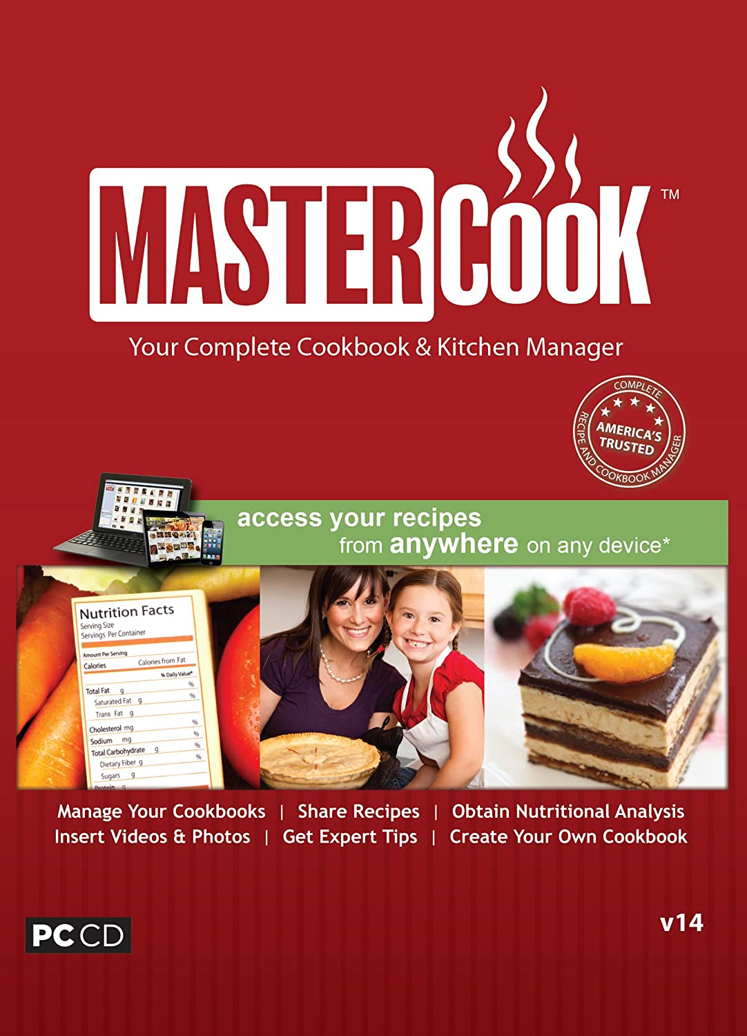 Mastercook V14: Your Complete Cookbook & Kitchen Manager: Amazon ...
