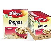 Kellogg's Toppas Classic - Frühstückscerealien, 6er Pack (6 x 330 g)