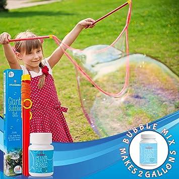 Giant Bubble Wand pour parti bulle-Brevet Conception télescopique en acier inoxydable NOUVEAU