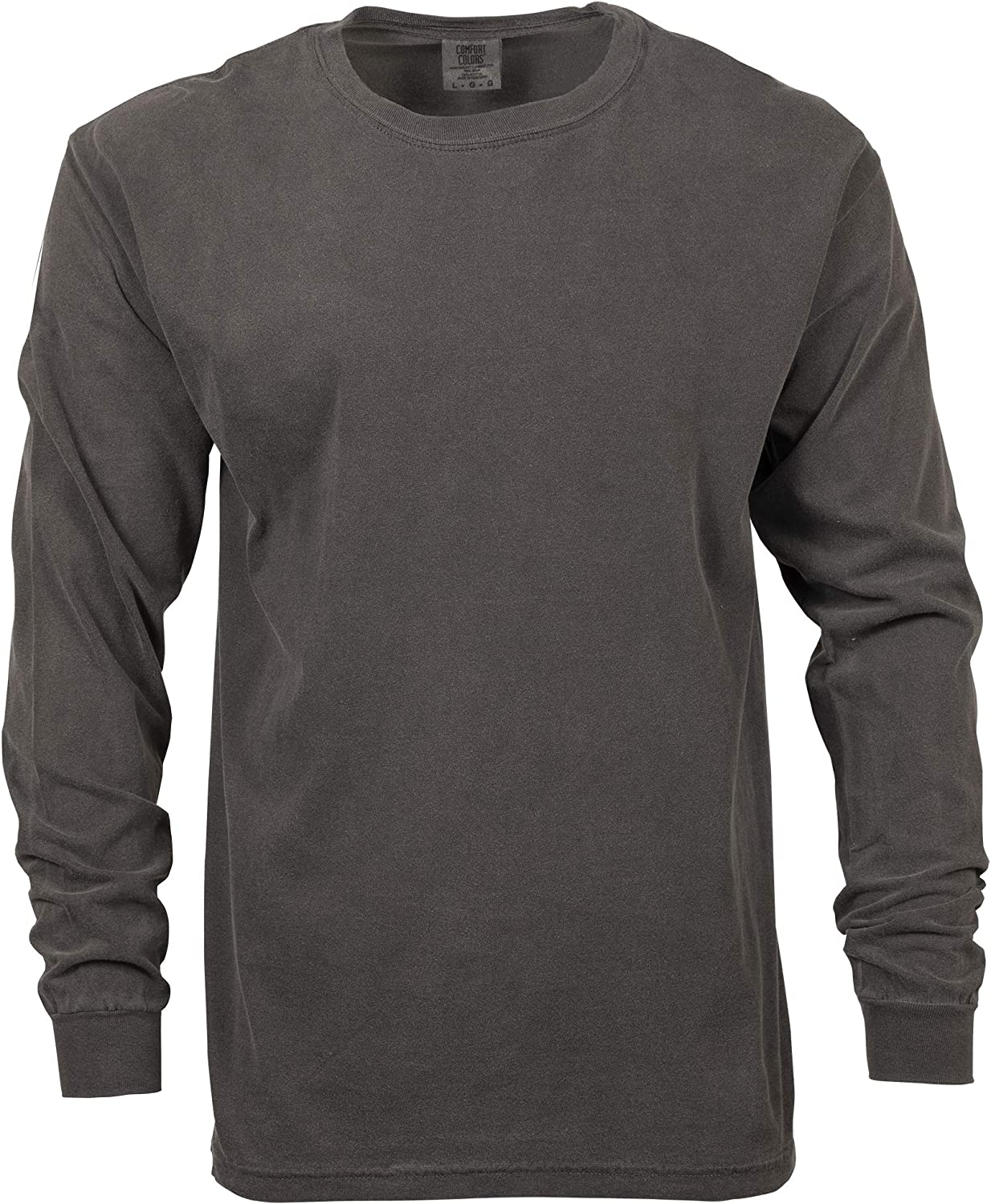 Comfort Colors Men's Adult Long Sleeve Tee, Style 6014: Clothing