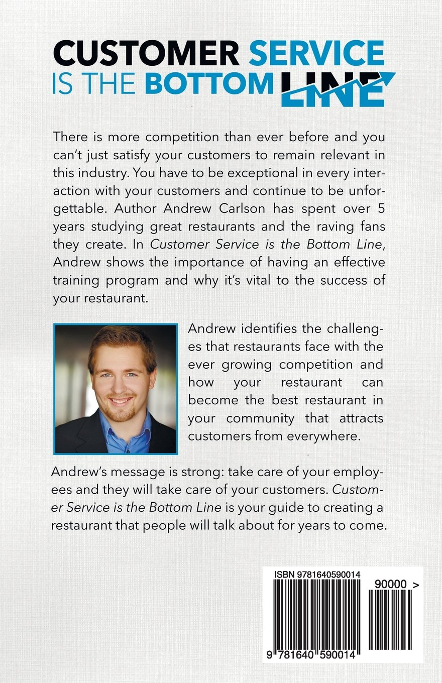 Customer Service is the Bottom Line: Andrew Carlson