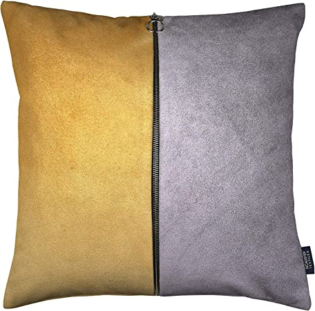 McAlister Textiles Federe Decorativi in Velluto Bicolore con