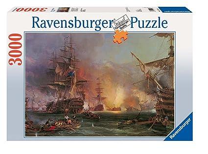 55472cfa0a8 Amazon.com: Bombardment of Algiers Jigsaw Puzzle 3000pc by ...