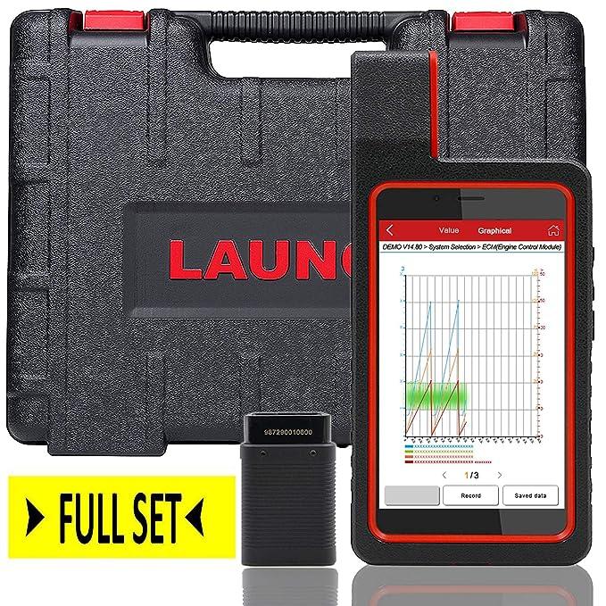 Amazon.com: LAUNCH X431 DIAGUN IV WiFi/Bluetooth OBD2 Scanner Auto Full System Diagnostic Tool Support ECU Coding,Actuation Test,Remote Diagnostic 11 Reset ...