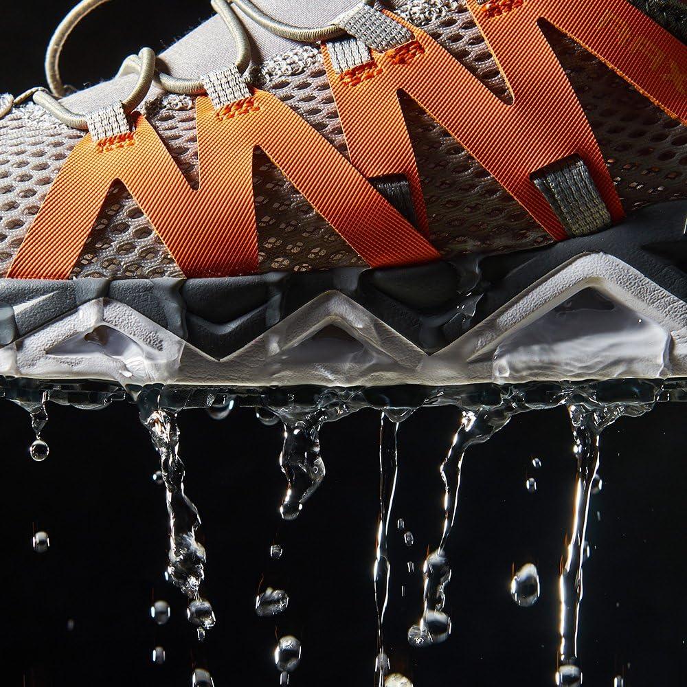 RAX Mens Quick Drying Slip-Resistent Aqua Water Hiking Shoes