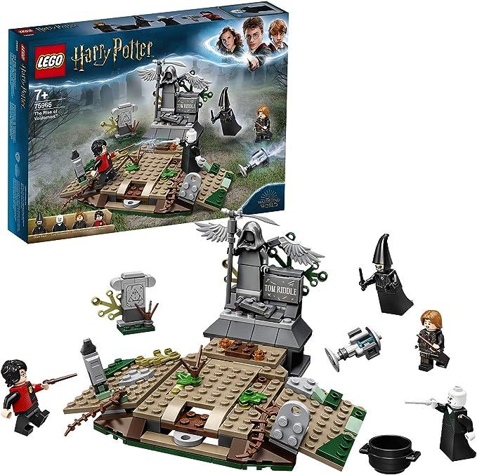 Lego 6283917 Lego Harry Potter Lego Harry Potter De Opkomst Van Voldemort 75965 Multicolor Amazon Nl