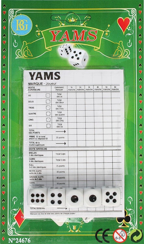 Jeu de d/és Yams