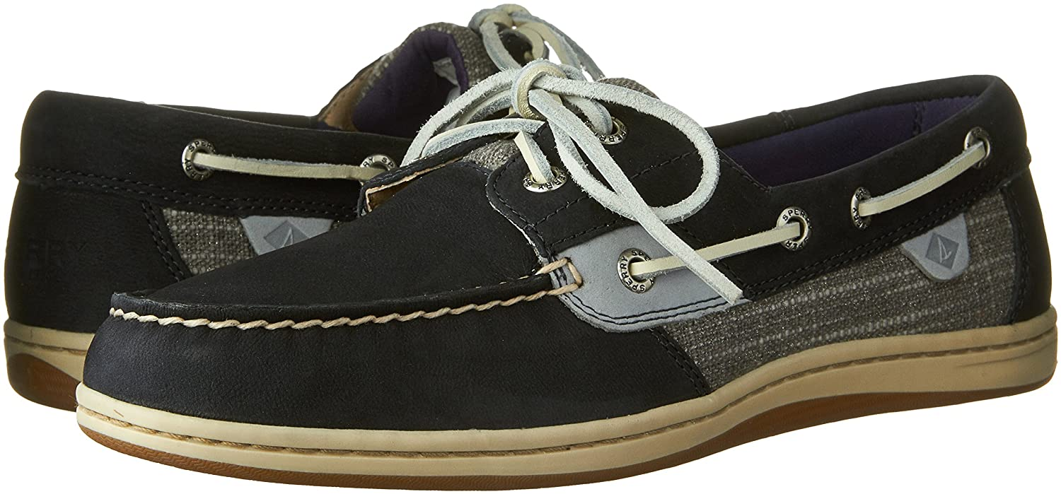 Sperry Top-Sider Women's Koifish Metallic Sparkle Navy Boat Shoe 7 M (B) 1zjUQxVw7C
