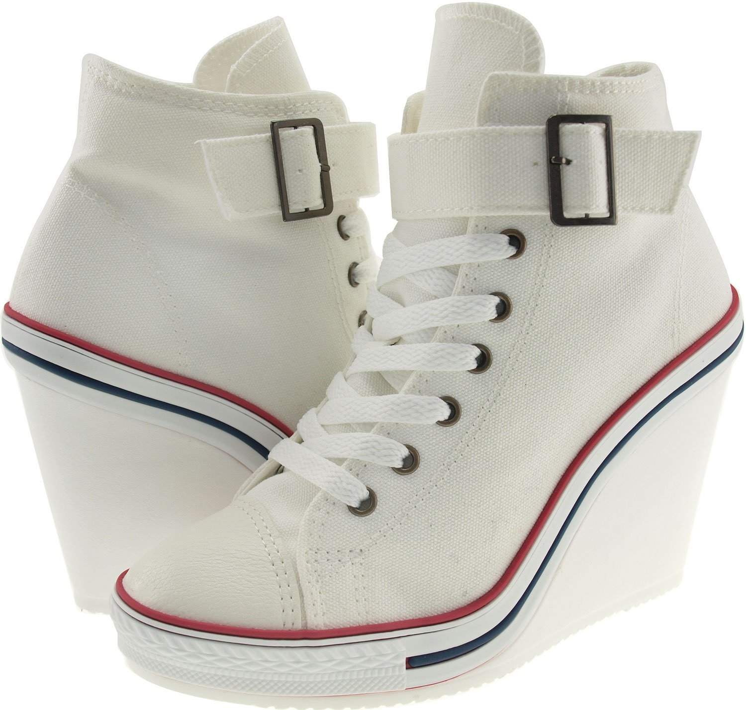 669ab64d8659 Maxstar Women B07DL5GFH5 s 777 Sneakers Buckle One Buckle Strap Canvas High Wedge  Heel Sneakers White df4698a - seo-serf.online