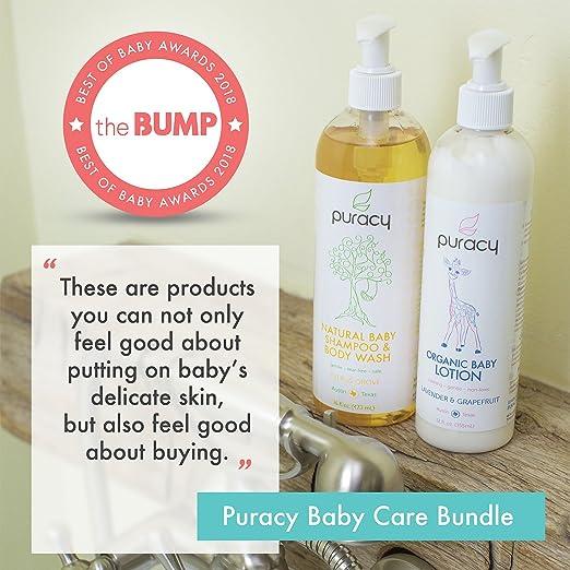 e57550760a39 Amazon.com   Puracy Organic Baby Care Gift Set