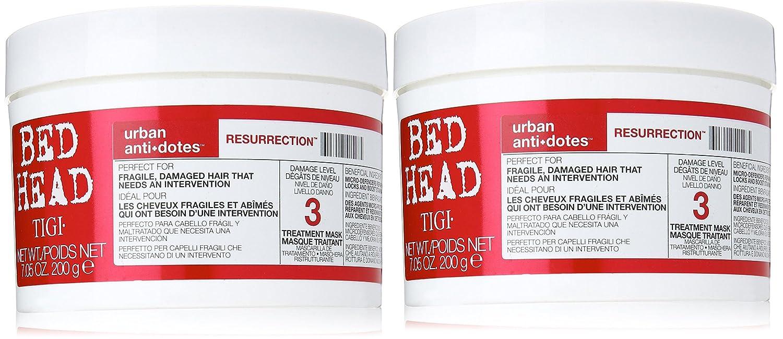 TIGI Bed Head Urban Antidotes 3Resurrection Treatment Mask Duo Pack (2x 200g)
