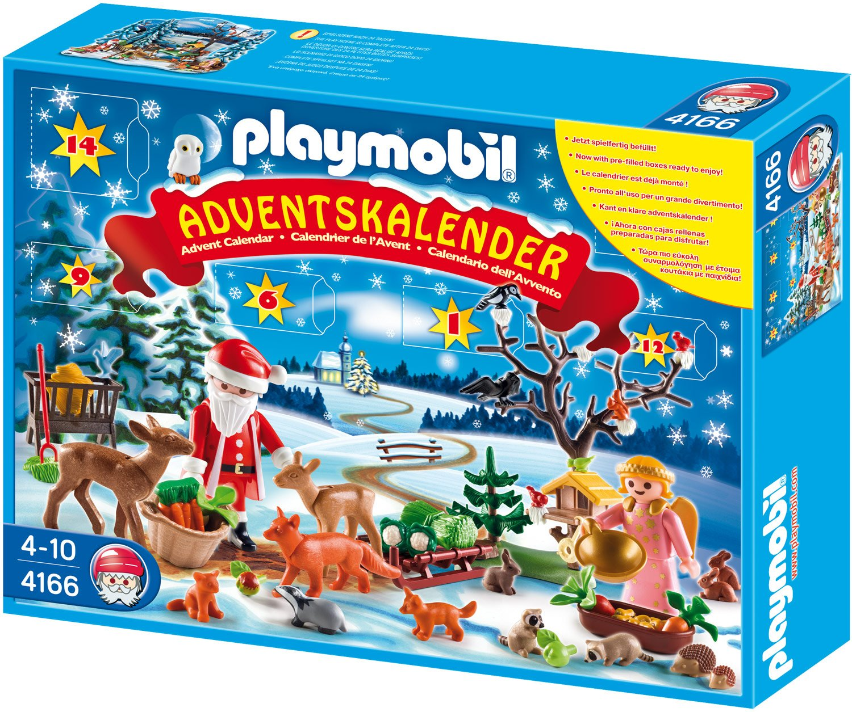 Playmobil 4166 - Adventskalender Weihnacht der Waldtiere Saisonspielzeug / Nikolaus & Weihnachten