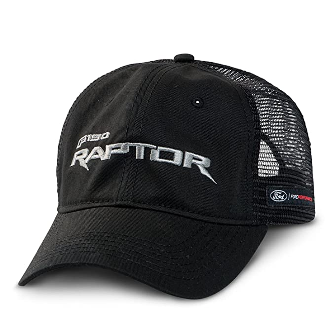 c2154c6b467b5c Amazon.com: Ford F-150 Raptor Mesh Back Black Baseball Cap: Clothing